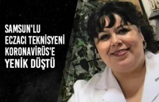 Samsunlu Eczacı Teknisyeni Koronavirüs'e Yenik...