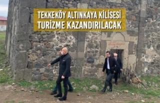Tekkeköy Belediyesi; Altınkaya Kilisesi Turizme...