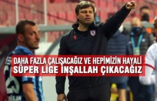 Teknik Direktör Sağlam; Adana Demirspor Maçını...
