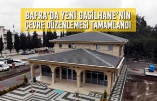 Yeni Gasilhane'nin Çevre Düzenlemesi Tamamlandı