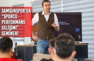 """Yılport Samsunspor'da """"Sporcu Performans Gelişimi""""..."""