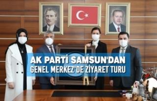 AK Parti Samsun'dan Genel Merkez'de Ziyaret...