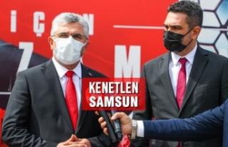 AK Parti Samsun'dan Yılport Samsunspor'a...
