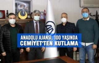Anadolu Ajansı, 100 Yaşında; Cemiyet'ten Kutlama