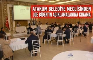 Atakum Belediye Meclisinden Joe Biden'ın Açıklamalarına...