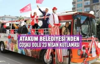 Atakum Belediyesi'nden Coşku Dolu 23 Nisan Kutlaması