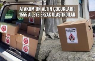 Atakum'un Altın Çocukları! 1555 Aileye Erzak...
