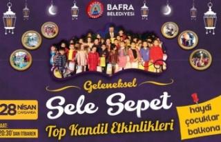 Bafra'da Selesepet Top Kandil Şenliği Bu Yılda...