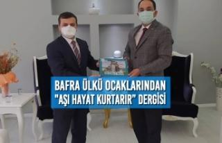 """Bafra Ülkü Ocaklarından """"AŞI Hayat Kurtarır""""..."""