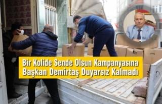Bir Kolide Sende Olsun Kampanyasına Başkan Demirtaş...