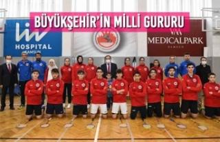 Büyükşehir'in Milli Gururu
