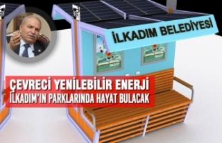 Çevreci Yenilebilir Enerji İlkadım'ın Parklarında...