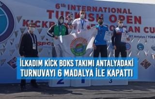İlkadım Kick Boks Takımı Antalyadaki Turnuvayı...