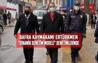 """Kaymakam Ertürkmen """"Dinamik Denetim Modeli"""" Denetimlerinde"""