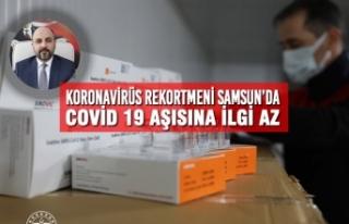 Koronavirüs Rekortmeni Samsun'da Covid 19 Aşısına...