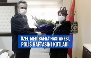 Özel Medibafra Hastanesi, Polis Haftasını Kutladı