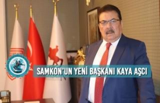 SAMKON'un Yeni Başkanı Kaya Aşcı