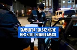 Samsun'da 120.642 Kişiye HES Kodu Sorgulaması
