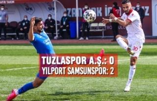 Tuzlaspor A.Ş.: 0  – Yılport Samsunspor: 2