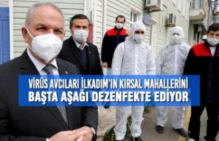 Virüs Avcıları İlkadım'ın Kırsal Mahallerini...