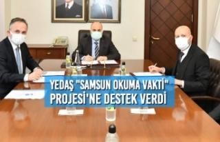 """YEDAŞ """"Samsun Okuma Vakti"""" Projesi'ne..."""