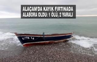 Alaçam'da Kayık Fırtınada Alabora Oldu: 1...