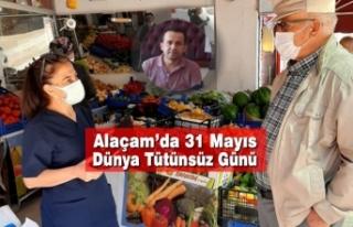 Alaçam'da 31 Mayıs Dünya Tütünsüz Günü