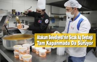 Atakum Belediyesi'nin Sıcak Aş Desteği Tam Kapanmada...