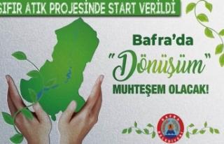Bafra Belediyesi Sıfır Atık Projesinin Startını...