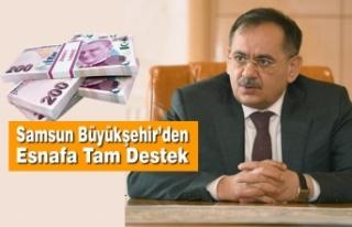Başkan Demir, Esnafa Yönelik Yeni Destek Paketini...