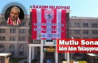 Başkan Demirtaş, Şehri Samsunspor Bayraklarıyla...