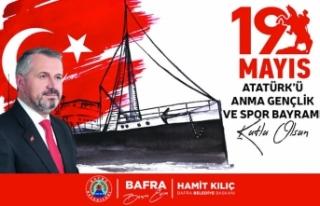 Başkan Kılıç'ın 19 Mayıs Atatürk'ü Anma...