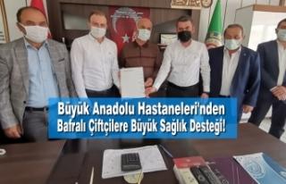 Büyük Anadolu Hastaneleri'nden Bafralı Çiftçilere...