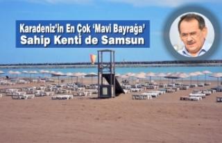 Karadeniz'in En Çok 'Mavi Bayrağa' Sahip Kenti...