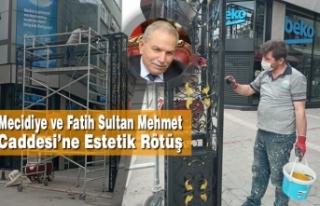 Mecidiye ve Fatih Sultan Mehmet Caddesi'ne Estetik...