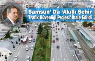 Samsun' Da 'Akıllı Şehir Trafik Güvenliği...