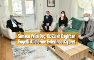 Samsun Valisi Doç. Dr. Zülkif Dağlı'dan Engelli...