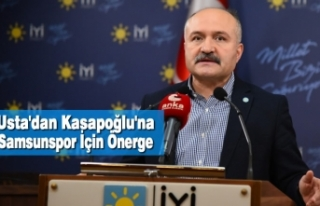 Usta'dan Kasapoğlu'na Samsunspor İçin...