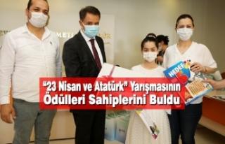 """""""23 Nisan ve Atatürk"""" Yarışmasının Ödülleri..."""