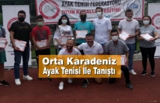Alaçam, Ayak Tenisi Sertifika Programına Ev Sahipliği...