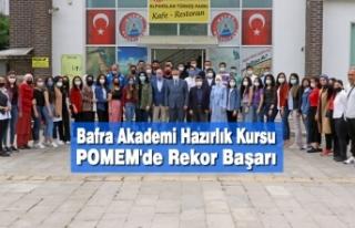 Bafra Akademi Hazırlık Kursu POMEM'de Rekor...