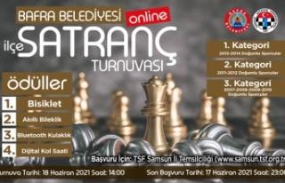 Bafra Belediyesi Online Satranç Turnuvası Düzenliyor