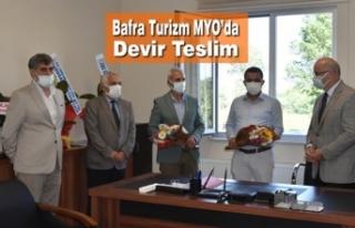Bafra Turizm MYO'da Devir Teslim