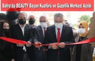 Bafra'da BEAUTY Bayan Kuaförü ve Güzellik Merkezi...