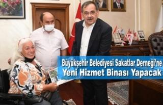 Büyükşehir Belediyesi Sakatlar Derneği'ne Yeni...