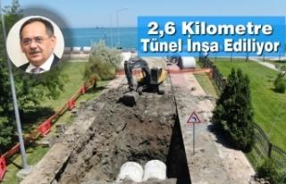 Canik Yağmur Suyu Kollektör Hattı'nın İlk Etabı...