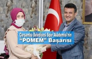 """Çarşamba Belediyesi Spor Akademisi'nin """"POMEM""""..."""