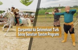 Çarşamba'da Geleneksel Türk Savaş Sanatları...