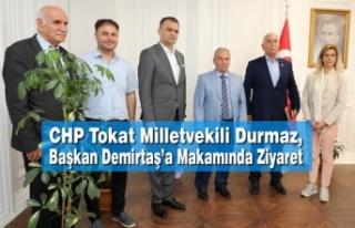 CHP Tokat Milletvekili Durmaz, Başkan Demirtaş'ı...