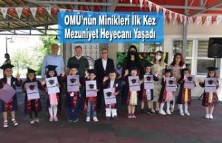 OMÜ'nün Minikleri İlk Kez Mezuniyet Heyecanı...